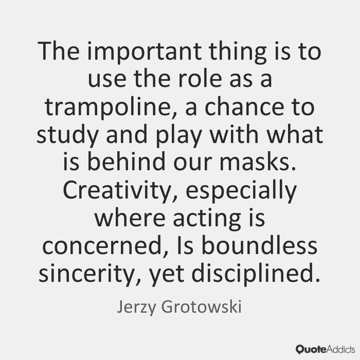 grotowski theatre techniques